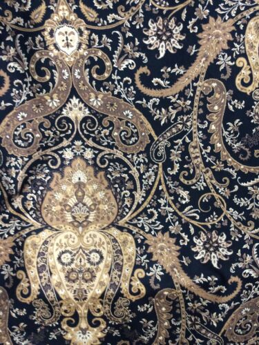 VTG WAVERLY Cotton by Zance FABRIC 56 wide For Every 2 YARDS - $22.00