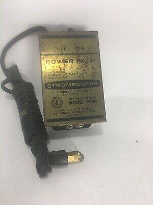 Vintage Strombecker Power Pack Model 9700 Slot Cars