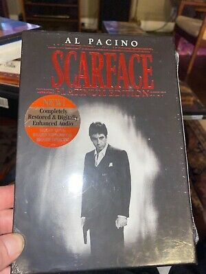 Scarface-Al Pacino 2 dvd platinum edition set! New Sealed!