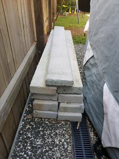 2m Concrete sleepers