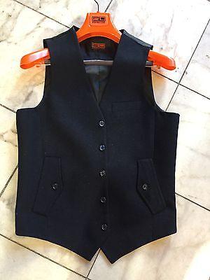 NWT Steven Land Casual Dress Multi Color  Men's Vest  100% Wool  Size 42