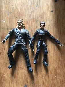 Xmen movie action figures wolverine sabretooth
