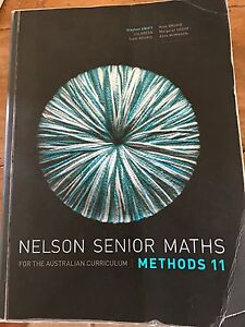 Nelson Senior Maths Methods 11 Coogee Cockburn Area Preview