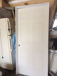 Door with the frame  interior $100 obo 36X80