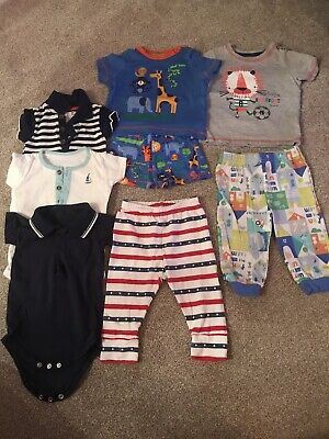 Baby Boy 6-9 Months Bundle 8 Items TU GAP BOOTS MINI CLUB MATALAN
