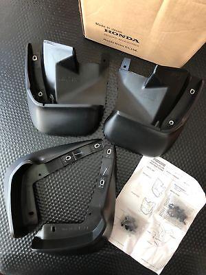 GENUINE OEM HONDA 1992-1995 CIVIC 3DR HATCHBACK MUD FLAPS SPLASH GUARDS SET EG6 - Honda Civic Mud