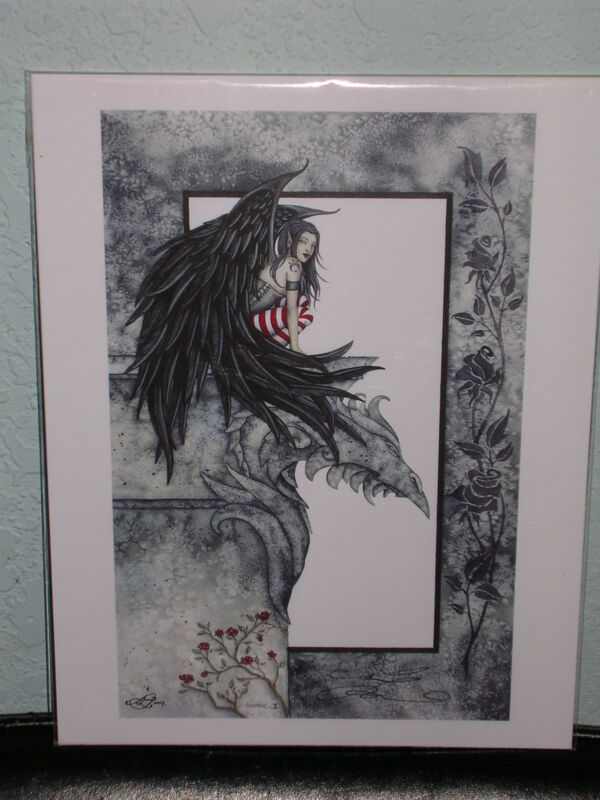 Amy Brown - Gothic II -  RARE - SIGNED
