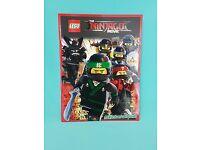 Leeralbum 25 Tüten   NEU Lego The Ninjago Movie Sticker