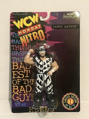 Macho Man Randy Savage nWo WCW OSFTM Figure MOC RARE WWE LJN HASBRO TOYBIZ