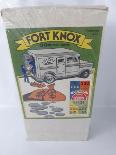 FORT KNOX - 2400   count -  .50 per card -