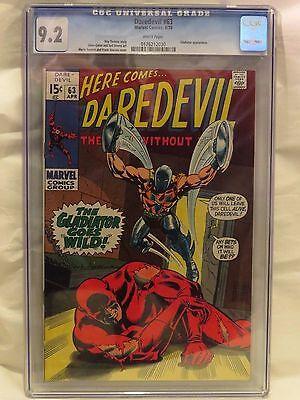 Daredevil #63 CGC 9.2 - Gladiator appearance