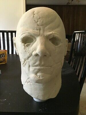 Michael Myers raw latex mask pull rob zombie Halloween 2 not Jason voorhees Fred