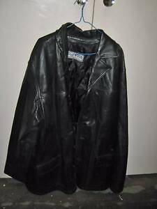 Hollywood Leather Studios Leather Jacket - Size XLT Hamersley Stirling Area Preview