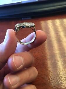 18ct Gold Mens Harley Davidson Ring Alexander Heights Wanneroo Area Preview