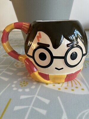 Harry potter Head And Scarf Mug Never Used. Ideal Christmas Stocking Filler