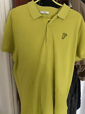 mens versace polo shirt xxl