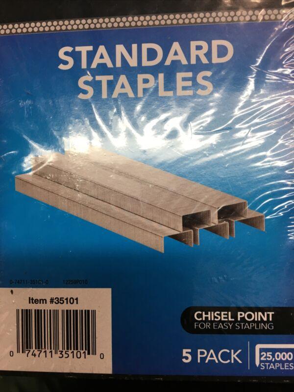 Swingline Standard Staples,25000,#35101