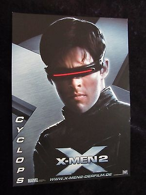 X-Men 2 lobby cards/stills - Hugh Jackman, Patrick Stewart - German set of 12