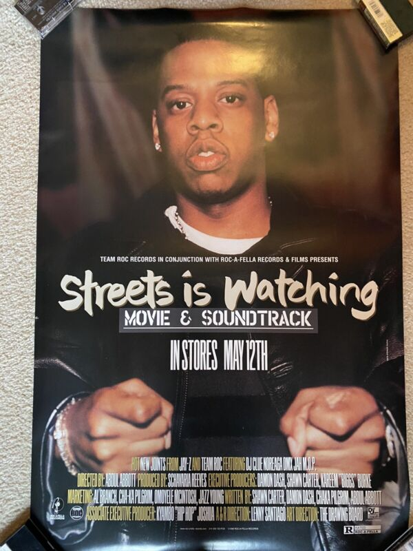 Jay Z Streets Is watching Promo Poster