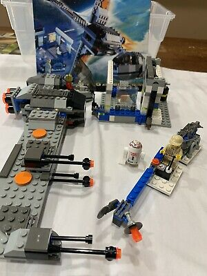 LEGO 7180 Star Wars B-Wing At Rebel Control Center w/original Manual, RARE