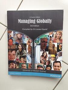 Managing Globally 3rd ed textbook Bligh Park Hawkesbury Area Preview