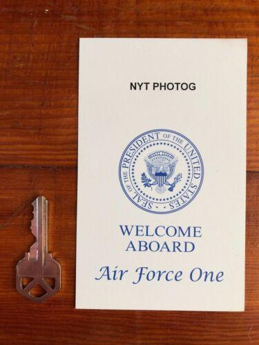 Air Force One Card - USAF - Barack Obama - NYT New York Times Photographer