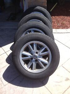2005 Mustang wheels and tires, S197, 215/65/16