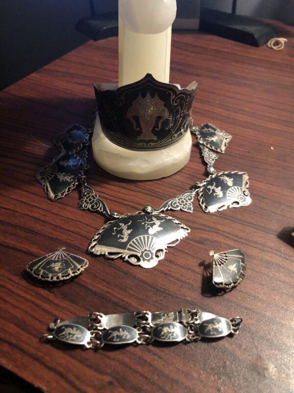 Huge Lotof Vintage Siam Sterling Silver