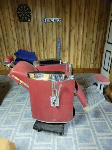 1950s koken barber chair