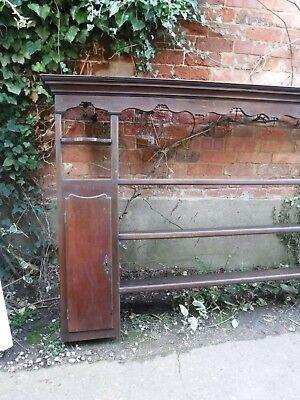 Oak Antique Dresser Back (820M)