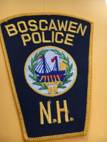 Boscawen New Hampshire Vintage Police Patch