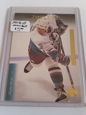 1995-96 Upper Deck - Electric Ice GOLD #306 Jason York : Anaheim Ducks