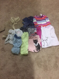 Assorted Baby Girl Clothes 12-24 Months