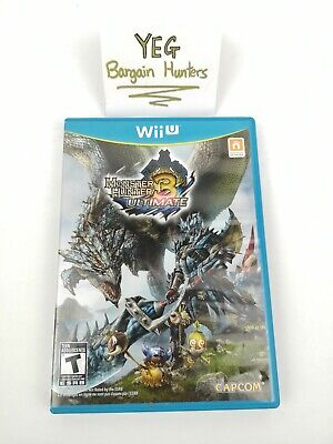 Monster Hunter 3 Ultimate (Nintendo Wii U, 2013) Complete Tested Canadian Seller