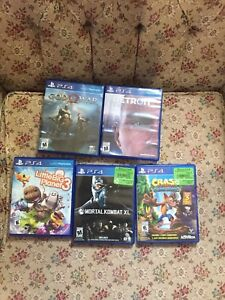 PS4 GAMES. GOD OF WAR, Detroit Become Human and more