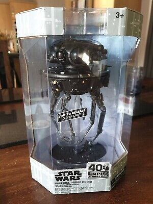 Disney Store Imperial Probe Droid Elite Series Die-Cast Action Figure - Sold Out