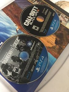 Rainbow 6 + BO3(will be in different cases)