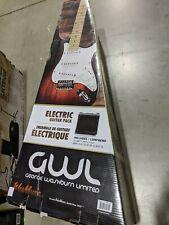GWL George Washburn Limited Electric Guitar Pack + Amp Stand Bag Strap & More!