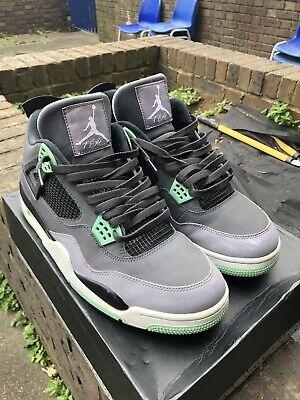 Nike Air Jordan 4 Retro 'Green Glow' (Size UK 12)