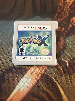 Pokemon X Game for the Nintendo 3DS - Authentic TESTED And Working Free Shipping