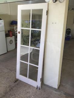 Glass panel door in good condition & external doors in Burnie-Devonport Region TAS | Building Materials ...