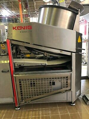 Konig Ceres 2.0 Artisan Bakery Equipment Gentle Dough Divider Used Bakery Equipment