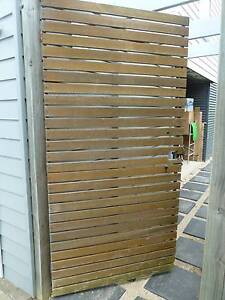 Gate Timber with galvanised steel frame Davistown Gosford Area Preview