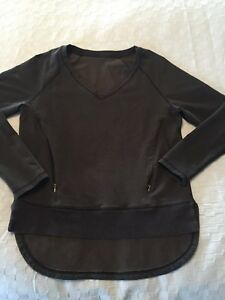 Lululemon After Asana pullover sweater - size 8 - EUC