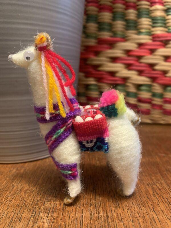Peruvian Llama Handmade