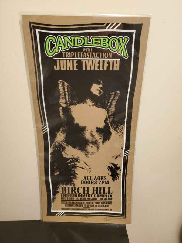 Candlebox Tour Poster