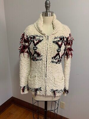 ISABEL MARANT FOR H&M ZIP UP CARDIGAN 10-12 Womens Small