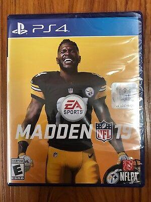 Madden NFL 19 - Standard Edition (Sony PlayStation 4, 2018) BRAND NEW SEALED