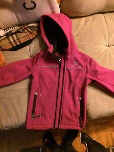Girls fall jacket size 6