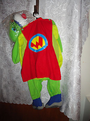 TODDLER'S WONDER PETS TURTLE HALLOWEEN COSTUME-SIZE 6/12 MONTHS-NEW IN PACKAGE